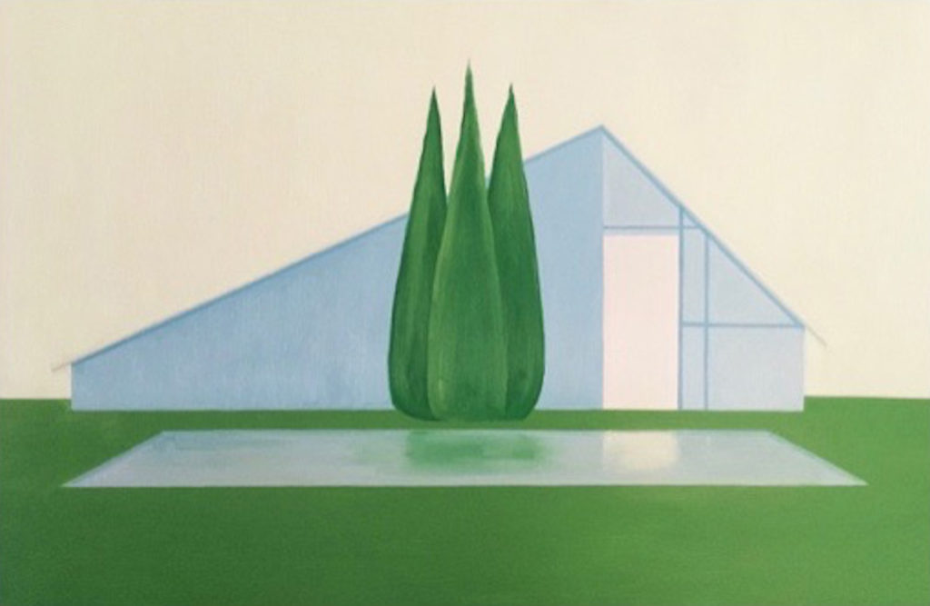 Salomon Huerta, House with pool,