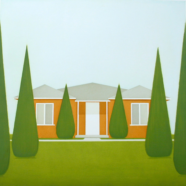 Salomon Huerta, Untitled (Sienna House)